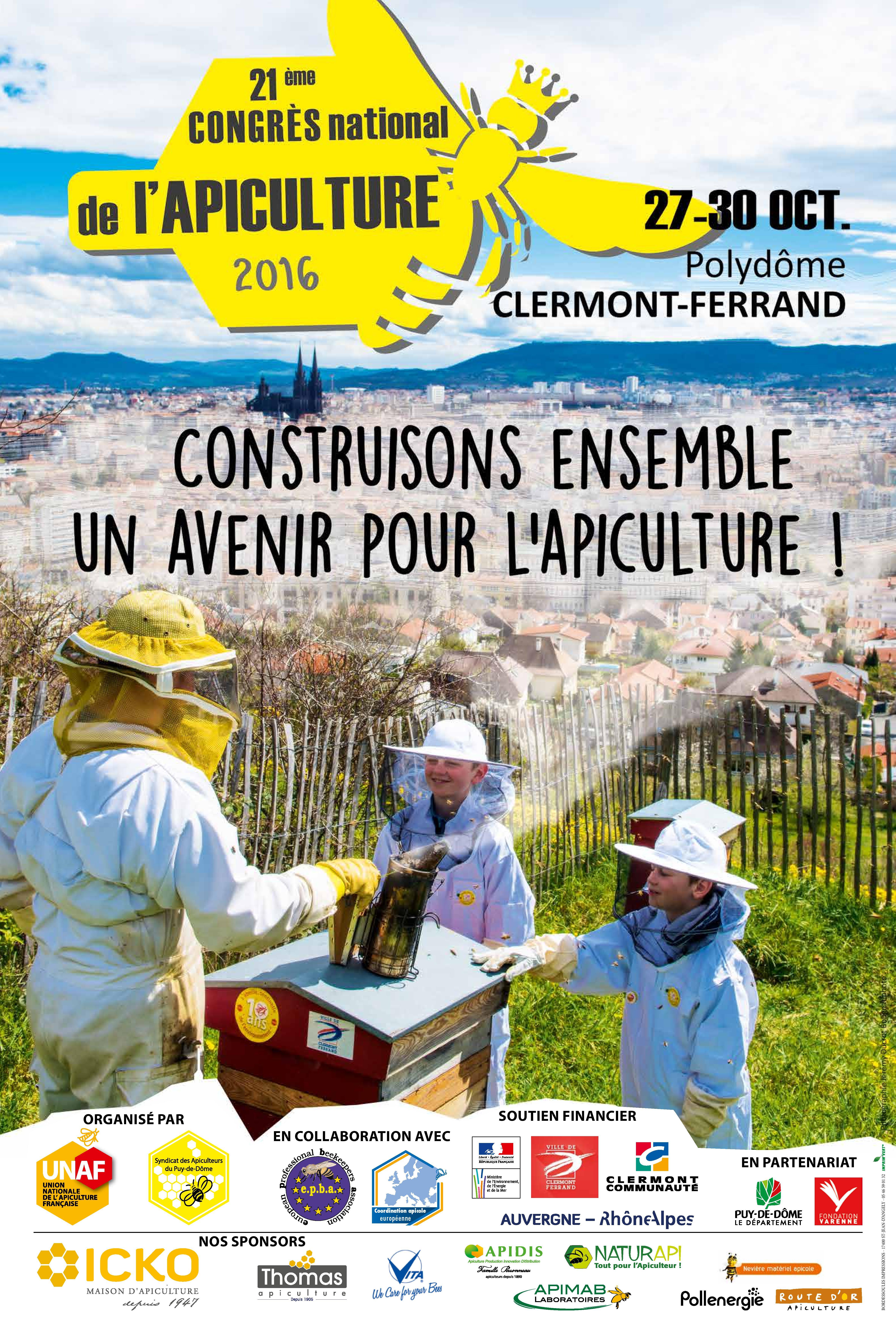21 me congr s national de l apiculture salons evenements for Salon apiculture