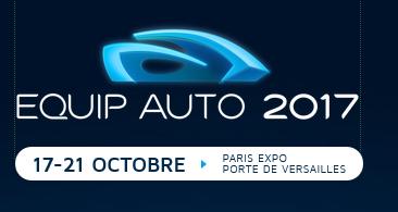 Salon EQUIP AUTO : du 17 au 21 octobre 2017 à Paris